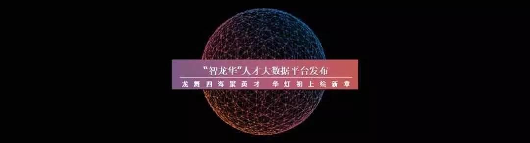 """""""智龙华""""人才大数据平台发布 人才工作有了""""北斗导航"""""""